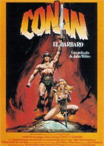 Póster de la película Conan, el bárbaro