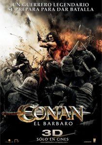 Póster de la película Conan el bárbaro (2011)