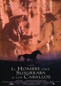 Póster de la película El hombre que susurraba a los caballos