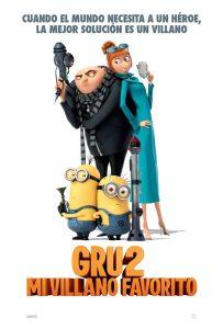 Póster de la película Gru 2. Mi villano favorito