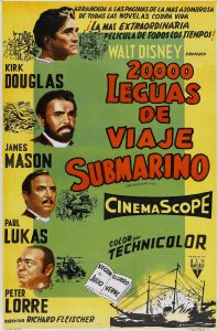 Póster de la película 20.000 leguas de viaje submarino