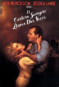Póster de la película El cartero siempre llama dos veces (1981)