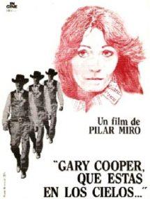 Póster de la película Gary Cooper, que estás en los cielos