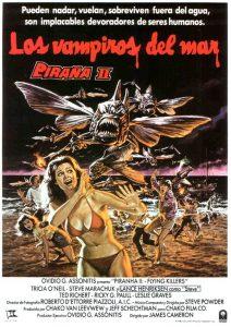 Póster de la película Piraña II: Los vampiros del mar