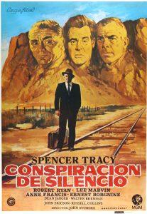 Póster de la película Conspiración de silencio