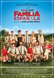 Póster de la película La gran familia española