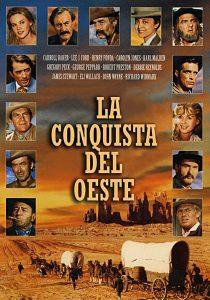Póster de la película La conquista del Oeste