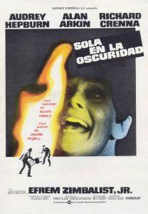 Póster de la película Sola en la oscuridad