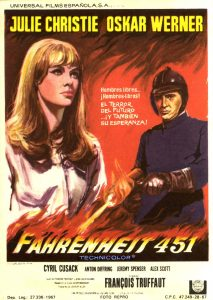 Póster de la película Fahrenheit 451
