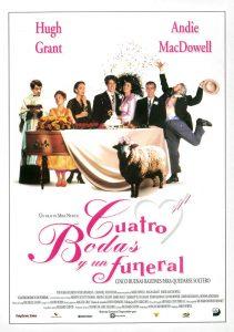 Póster de la película Cuatro Bodas y un Funeral