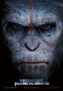 Póster de la película El amanecer del planeta de los simios