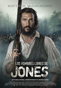 Póster de la película Los hombres libres de Jones