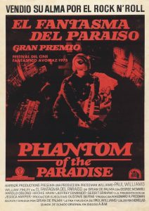 Póster de la película El fantasma del paraíso