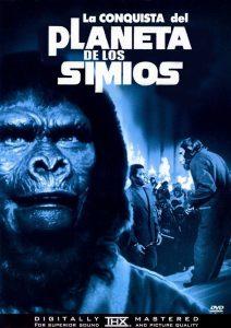 Póster de la película La conquista del planeta de los simios