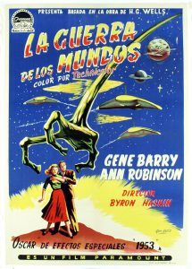 Póster de la película La guerra de los mundos (1953)