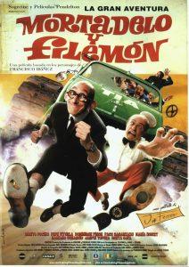 Póster de la película La gran aventura de Mortadelo y Filemón