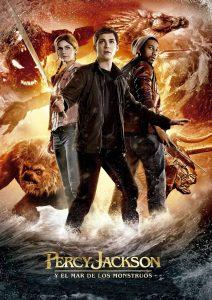 Póster de la película Percy Jackson y el mar de los monstruos