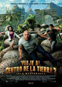 Póster de la película Viaje al centro de la Tierra 2: La isla misteriosa