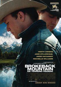 Póster de la película Brokeback Mountain