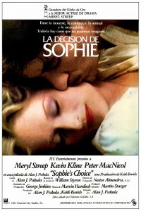 Póster de la película La decisión de Sophie