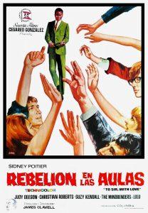 Póster de la película Rebelión en las aulas