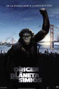 Póster de la película El origen del planeta de los simios