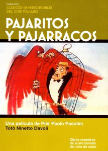 Póster de la película Pajaritos y pajarracos
