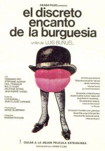 Póster de la película El discreto encanto de la burguesía