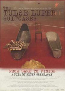 Póster de la película Las maletas de Tulse Luper 3. De Sark hasta el final