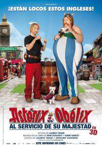 Póster de la película Astérix y Obélix: Al servicio de su majestad