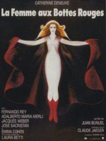 Póster de la película La mujer con botas rojas