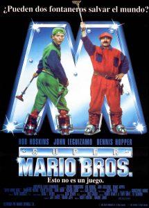 Póster de la película Super Mario Bros. (La película)