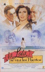 Póster de la película La Lola se va a los puertos