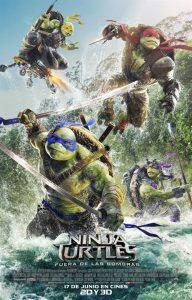 Póster de la película Ninja Turtles: Fuera de las Sombras
