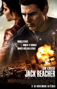 Póster de la película Jack Reacher: Nunca vuelvas atrás