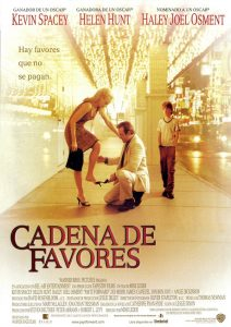 Póster de la película Cadena de favores
