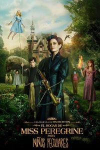 Póster de la película El hogar de Miss Peregrine para niños peculiares