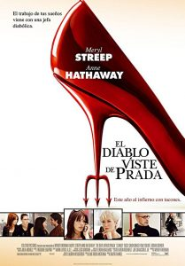 Póster de la película El diablo viste de Prada