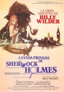 Póster de la película La vida privada de Sherlock Holmes