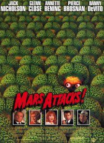 Póster de la película Mars Attacks!