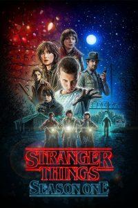 Póster de la serie Stranger Things Temporada 1