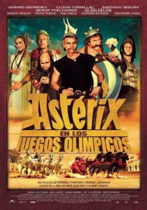Póster de la película Astérix en los Juegos Olímpicos
