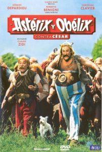 Póster de la película Astérix y Obélix contra César