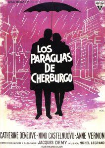 Póster de la película Los paraguas de Cherburgo