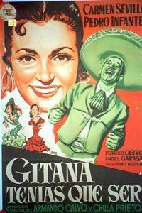 Póster de la película Gitana tenías que ser