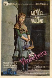 Póster de la película La violetera