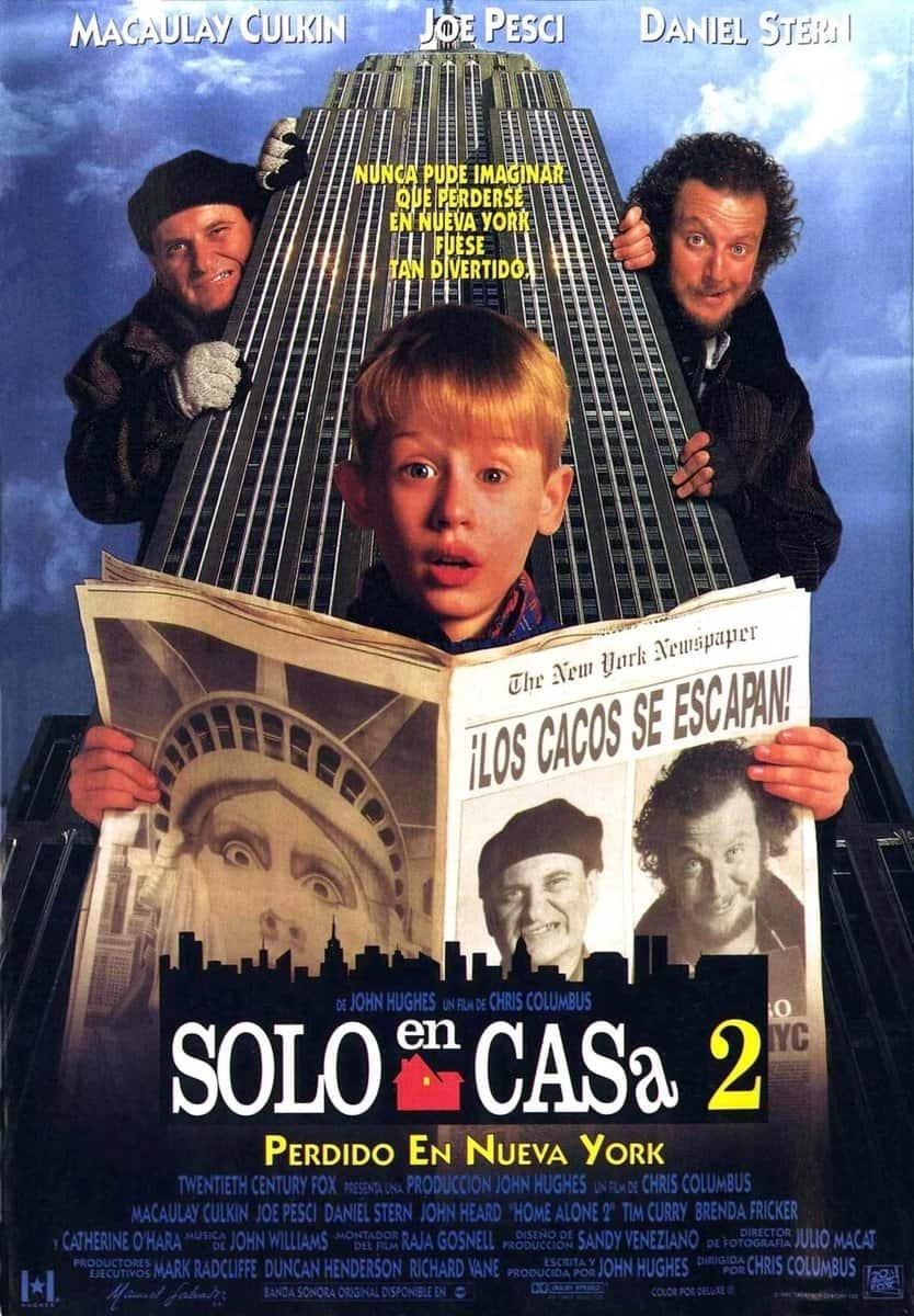 La película Solo en casa 2: Perdido en Nueva York - el