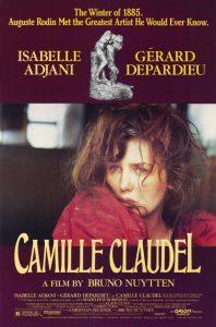 Póster de la película La pasión de Camille Claudel