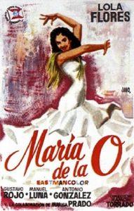 Póster de la película María de la O