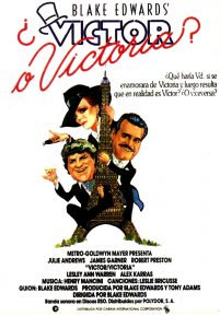 Póster de la película ¿Víctor o Victoria?